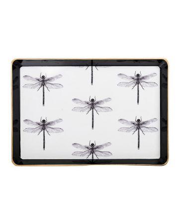 Al Fresco Small Tray - Dragonfly