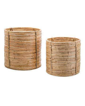 Safari Set 2 Cylinder Baskets