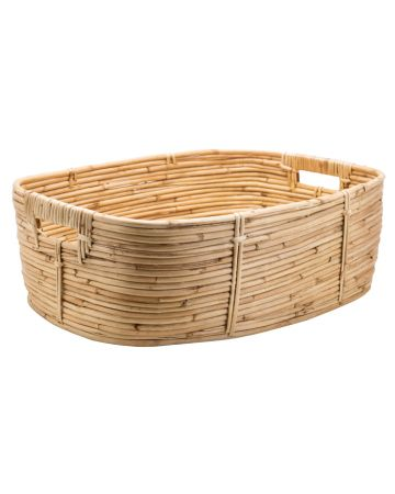 Safari Cane Kitchen Basket