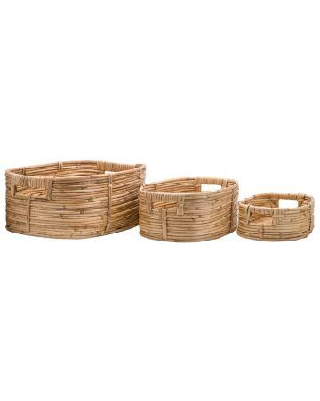 Safari Set 3 Storage Baskets