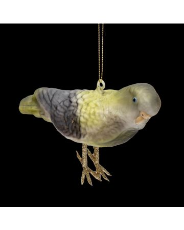 Green Parakeet Decoration