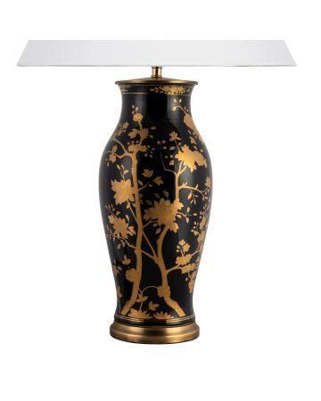 Catarina Noir Lamp Base -Large