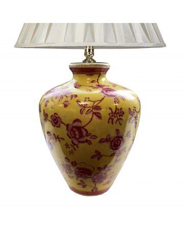 Pink Rose Lamp Base