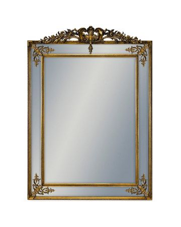 Walcot Mirror with Crest