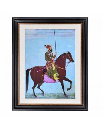 Mughal Emperor Aurangzeb Framed Print