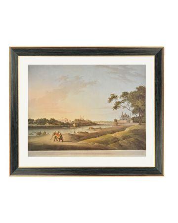 Lucknow - Thomas Daniell Framed Print