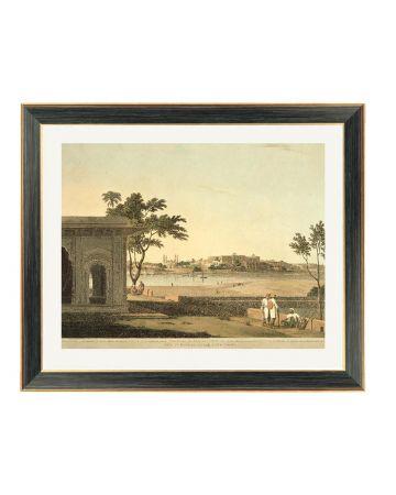 View of Mutura - Thomas Daniell Framed Print