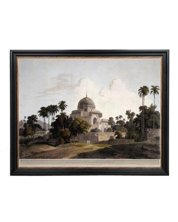 Mausoleum of Kausim Solemanee, at Chunar Gur - Thomas Danielle Large Print