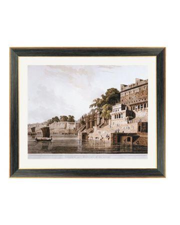 Benares - Thomas Daniell Framed Print