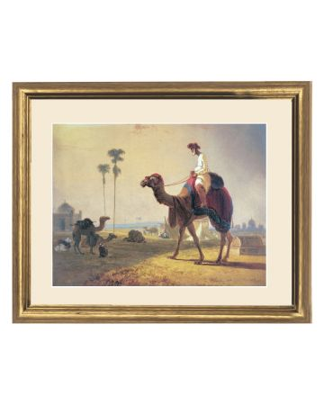 The Hirkarrah Camel (A Scene in the East Indies) - William Daniell