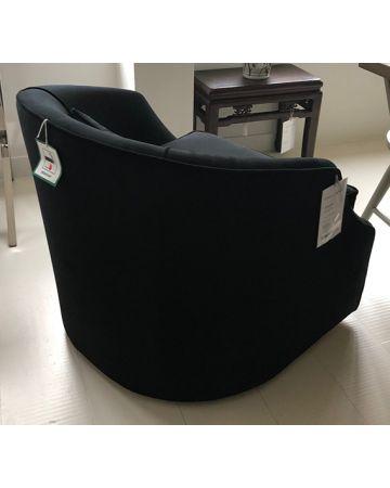 Mayfair Swivel Chair - Black