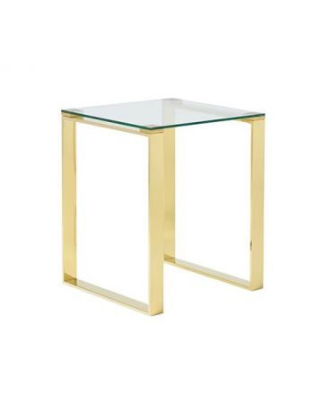 Semplice Side Table - Gold