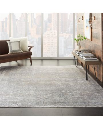 Ciragan Rug - Silver Cream