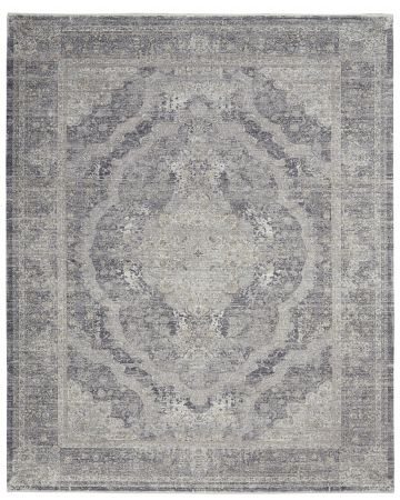 Ciragan Rug - Charcoal Cream