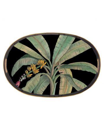 Al Fresco Oval Tray - Banana Leaf