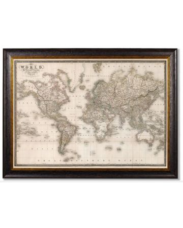 Map of the World - Large