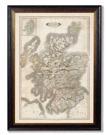 C.1831 Map of Scotland