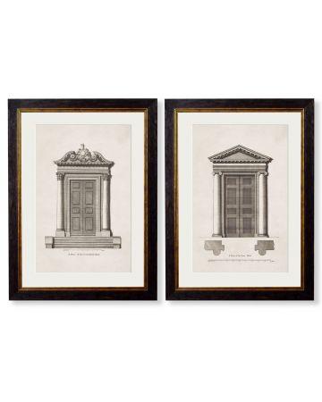 C.1756 Architectural Studies of Doors