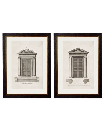 C.1756 Architectural Study of Doors