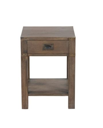 Wellington Side Table - Grey