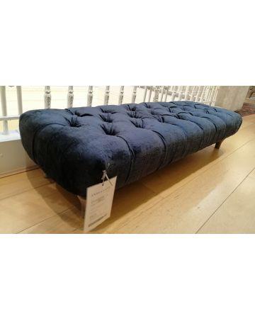 Directoire Large Bench - Berber Obsidian