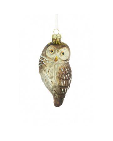 Glass Owl Decoration