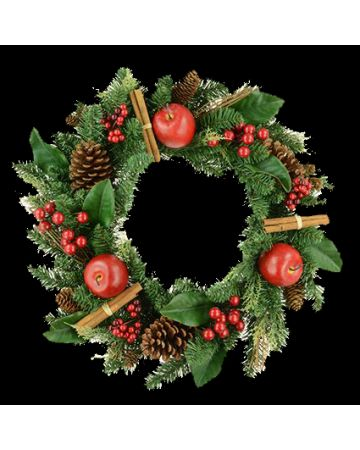 Christmas Lodge Wreath