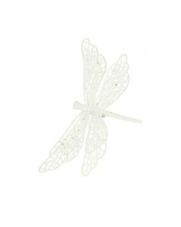 Sparkle Dragonfly Clip Decoration