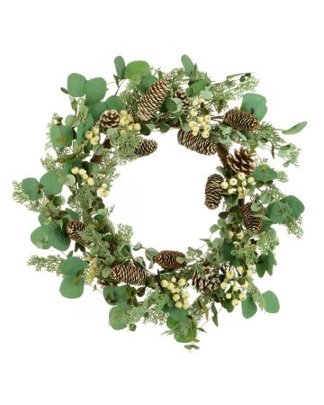 Eucalyptus Berry Wreath