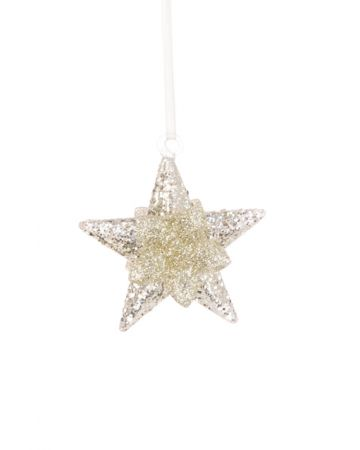 Glass Luxe Star Decoration