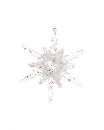 3D Star With Beading Decoration