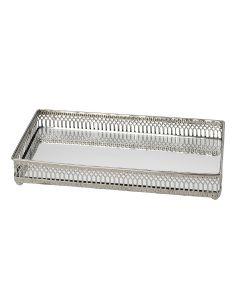 Chantilly Rectangular Mirror Tray - Small