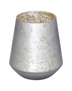 Bergen Candle Holder - Grey