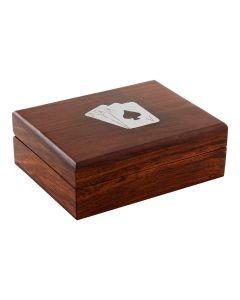 Wood Card Box