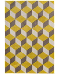 Bilbao Rug - Yellow Block