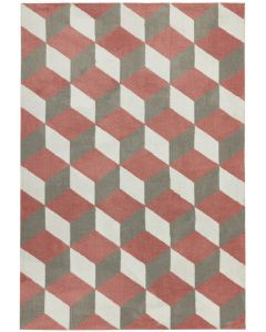 Bilbao Rug - Pink Block