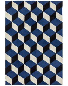 Bilbao Rug - Blue Block