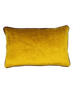 St. Moritz Velvet Rectangular Cushion - Honey