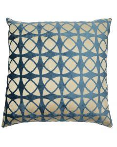 Abstract Cushion - Petrol