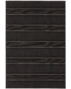Terrazza Charcoal Stripe