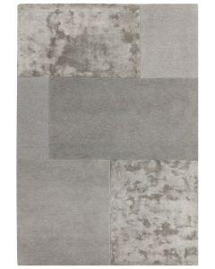 Metropolitan Tonal Textures Rug - Silver