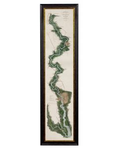 C.1834 Panoramic Map of the Thames