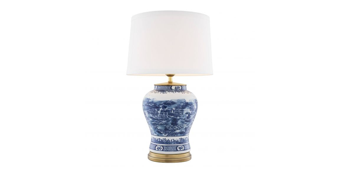 Eichholtz Chinese Blue Table Lamp, Table Lamps India Jane
