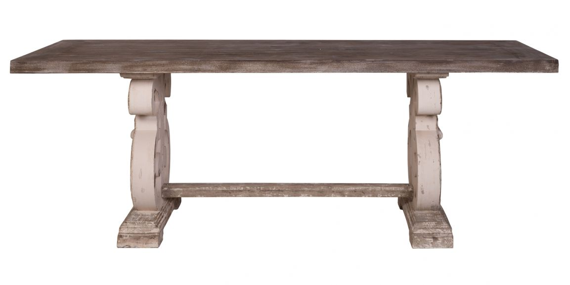 Lute Rustic French Style Dining Table Dining Room Furniture