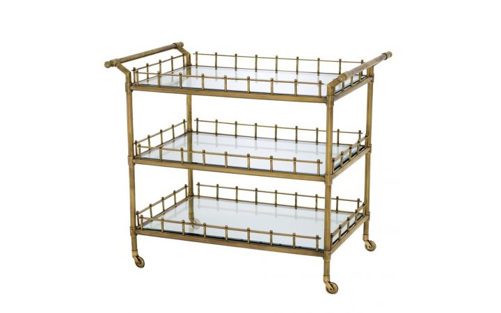 Eichholtz Scarlett Drinks Trolley - Brass