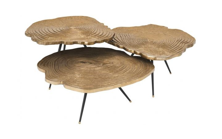 Eichholtz Quercus Set of 3 Coffee Tables