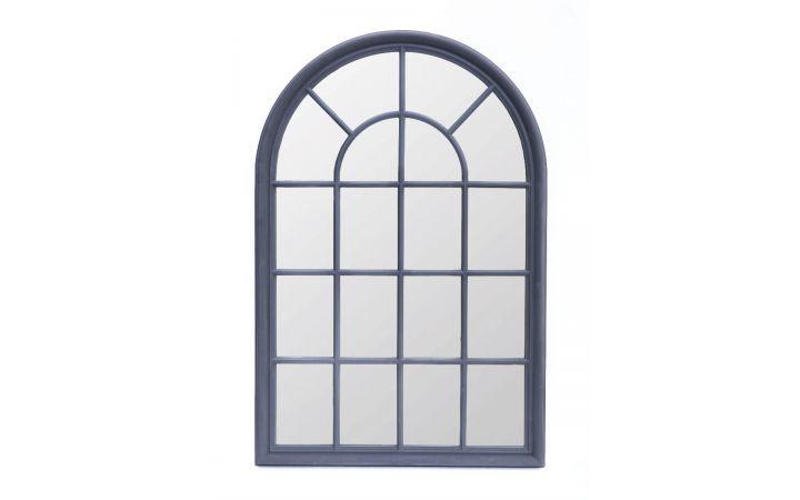 Pembridge Arch Mirror - Graphite