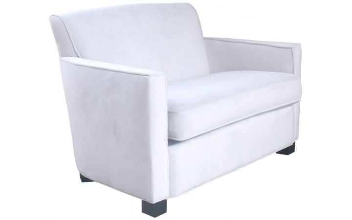Savoy Sofa - Off White Velvet