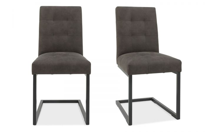 Bordeaux Pair of Upholstered Dining Chairs