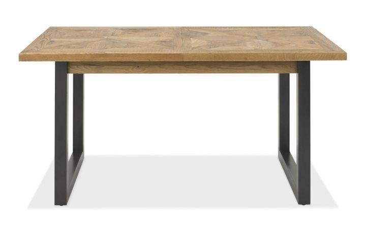Bordeaux Oak 4-6 Extendable Dining Table